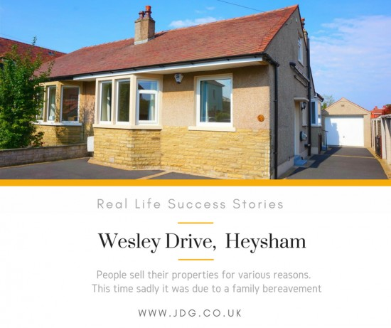 Real Life Succes Stories.  Wesley Drive.  Heysham