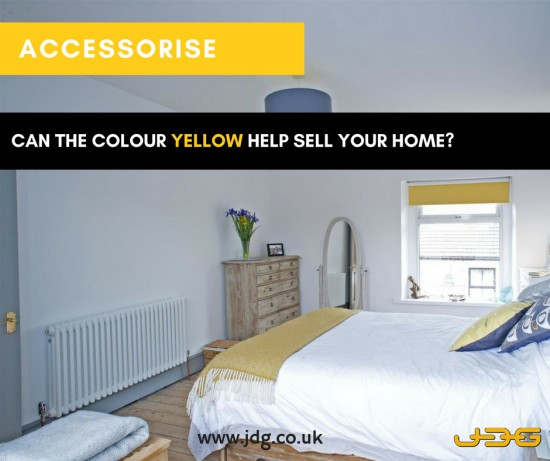 Can the colour yellow help sell your home?