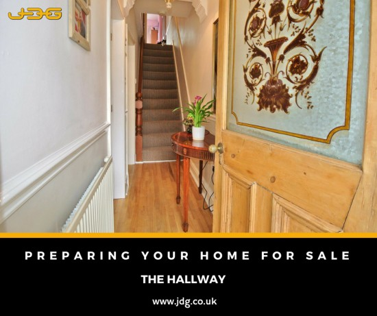 Preparing your home for sale. The Hallway
