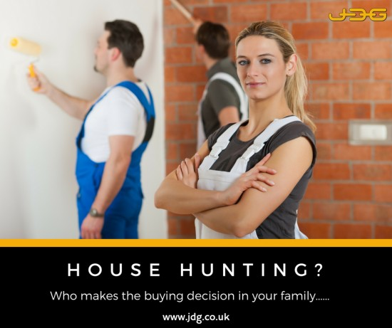 Who wears the trousers when it comes to choosing your home?