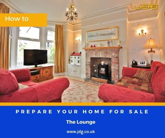 Preparing your home for sale.  The Lounge