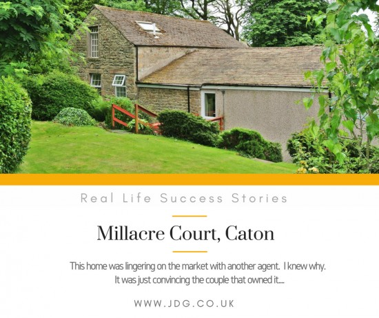 Real Life Sucess Stories -  Millacre Court,  Caton