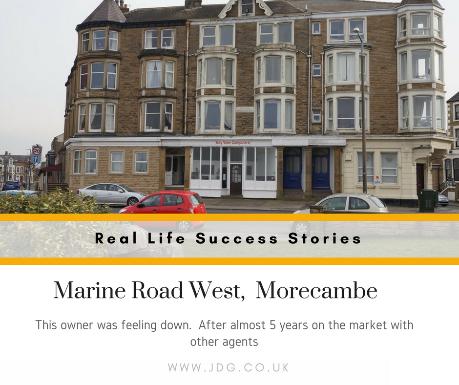 Real Life Success Stories.  Marine Road West