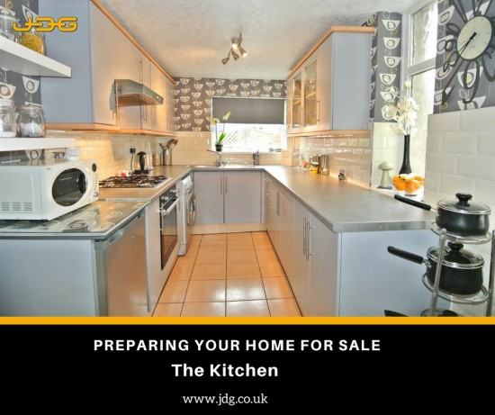 Preparing your home for sale. The kitchen