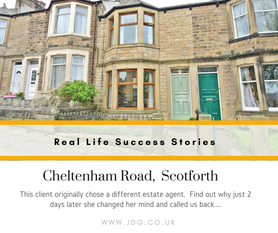 Real Life Succes Stories.   Cheltenham Road
