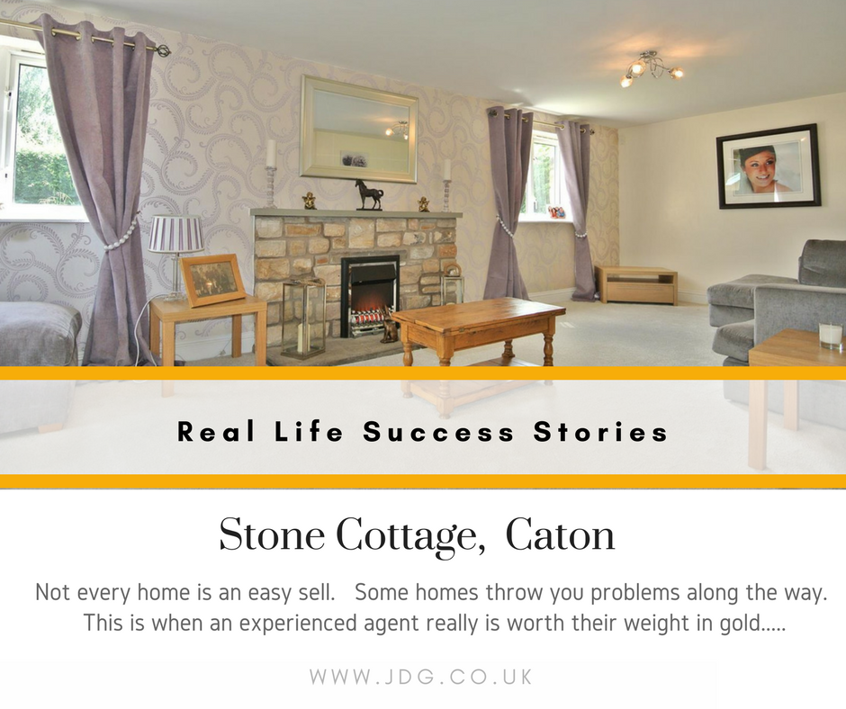 Real Life Success Stories.  Stone Cottage.  Caton