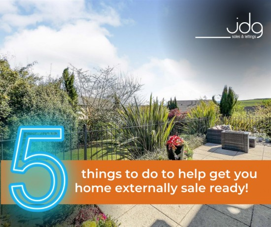 Preparing your home for sale. The Outside
