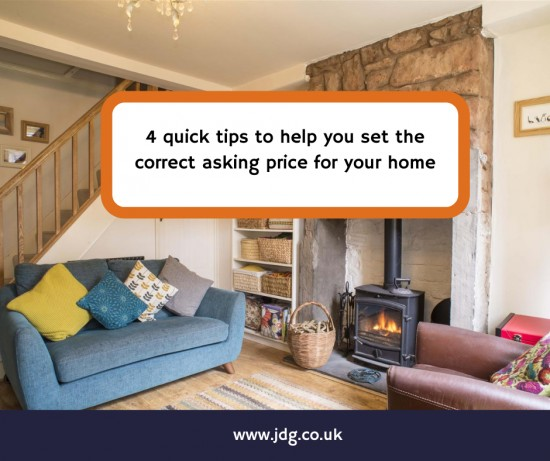 4 tips to set the correct asking price for your Lancaster or Morecambe property