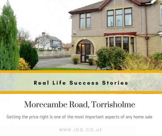 Real Life Succes Stories.   Morecambe Road, Morecambe