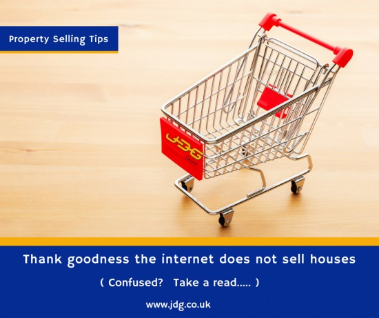 Thank Goodness the Internet does NOT sell houses!