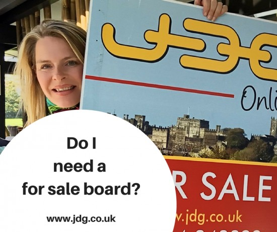 Do I need a for sale board?