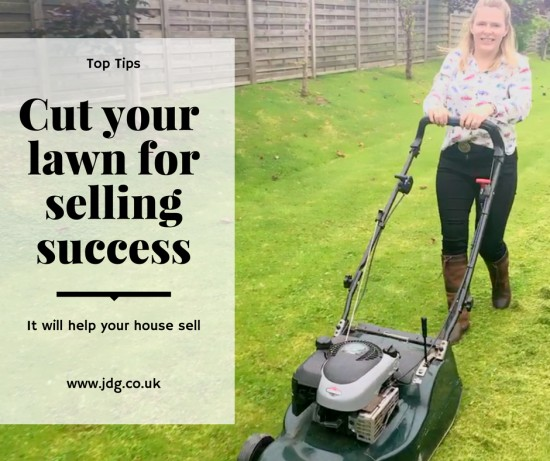 Cut your lawn for selling success