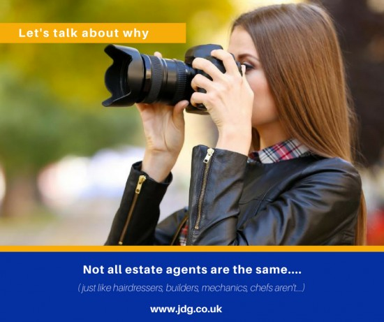 Not all Estate Agents are the same.