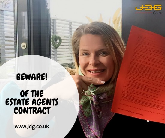 Why you should beware of the Estate Agents Contract