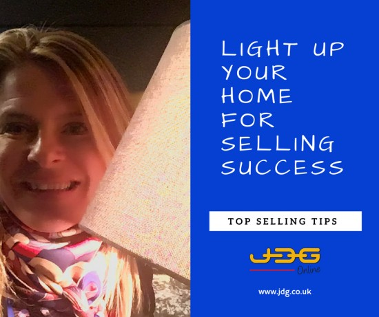 Light up your home for selling success!