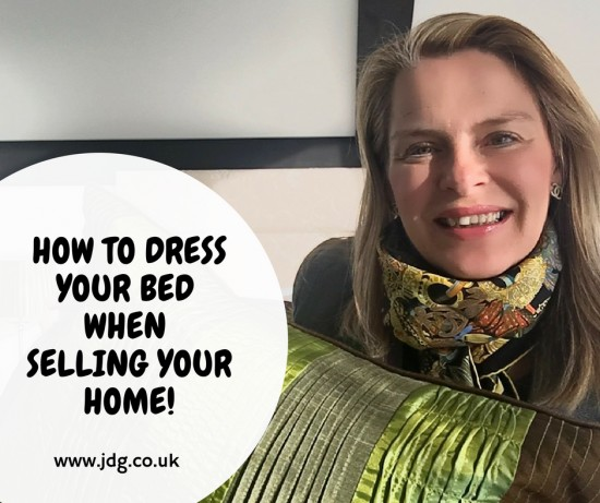How to dress your bed when you are selling home