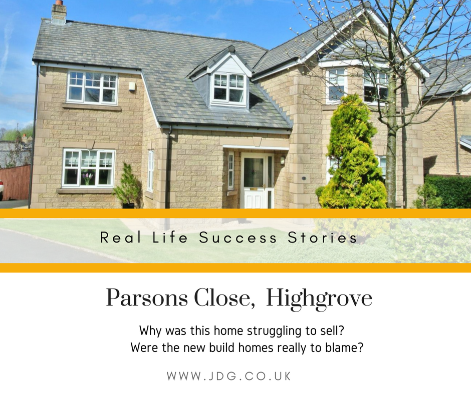 Real Life Success Stories.  Parsons Close,  Highgrove