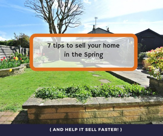 7 tips to sell your home in the Spring