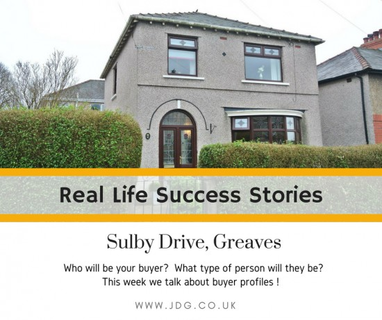 Real life success stories.  Sulby Drive, Greaves