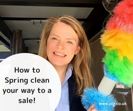 How to spring clean your way to sale