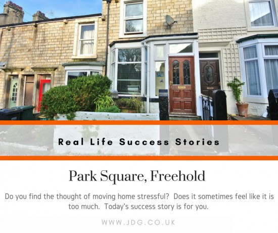 Real Life Success Stories  -  Selling Park Square, Freehold