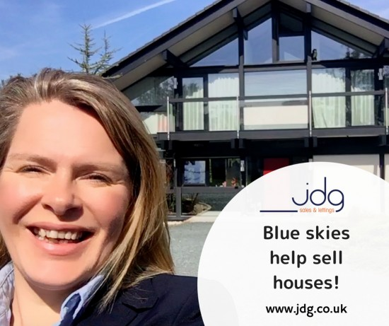 Why blue skies help sell houses