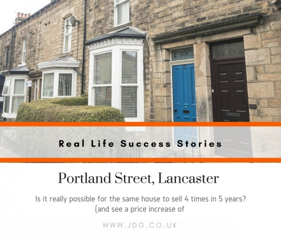 Real Life Success Stories - Selling Portland Street, Lancaster