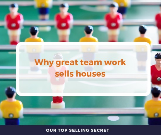 Great teamwork sells houses!