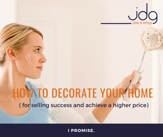 How to decorate your home for selling success!