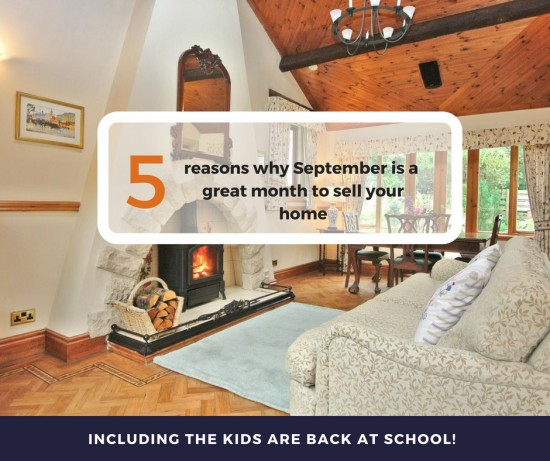 5 reasons why September is a great month to sell your home