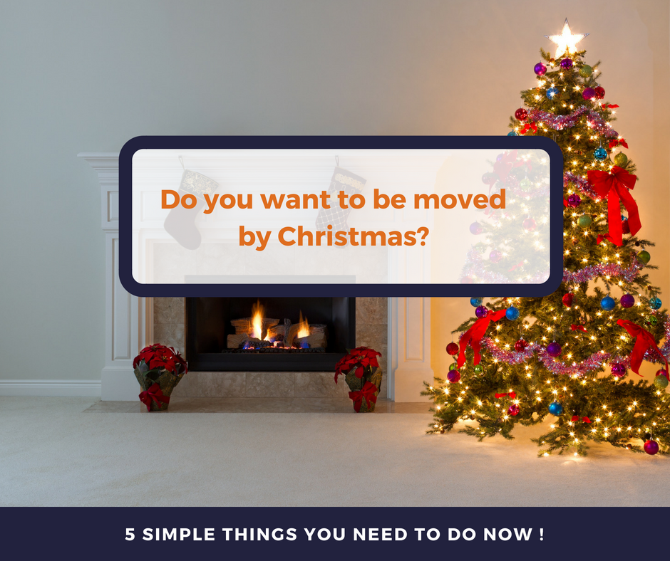 Do you want to be moved by Christmas? Now is the time to act!