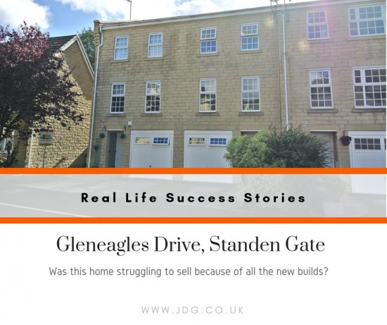 Real Life Success Stories. Selling Gleneagles Drive, Standen Gate