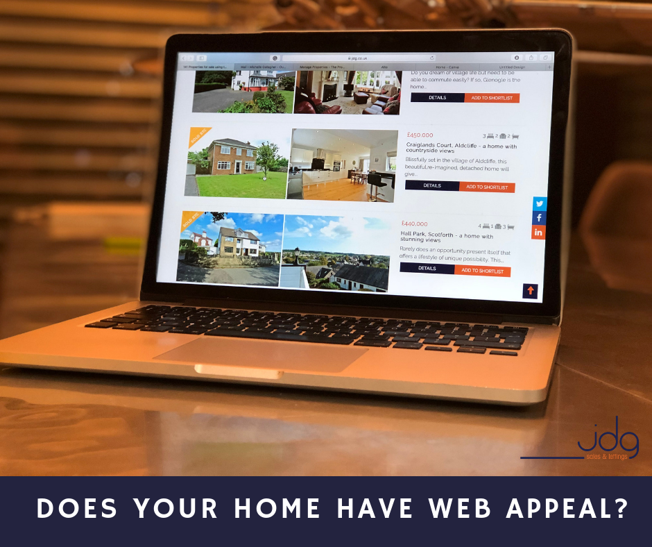 Does your home have web appeal?  (It is the new curb appeal)