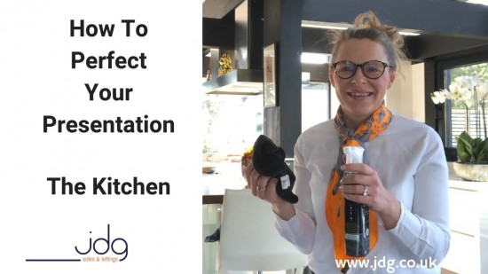 How to perfect your presentation. The Kitchen
