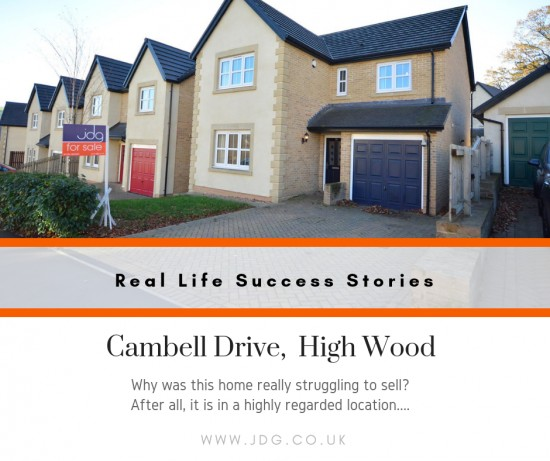 Real Life Success Stories. Selling Cambell Drive,  Highwood
