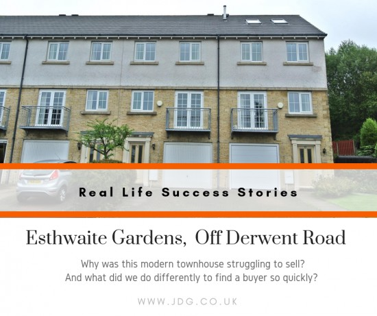 Real Life Success Stories. Selling Esthwaite Gardens