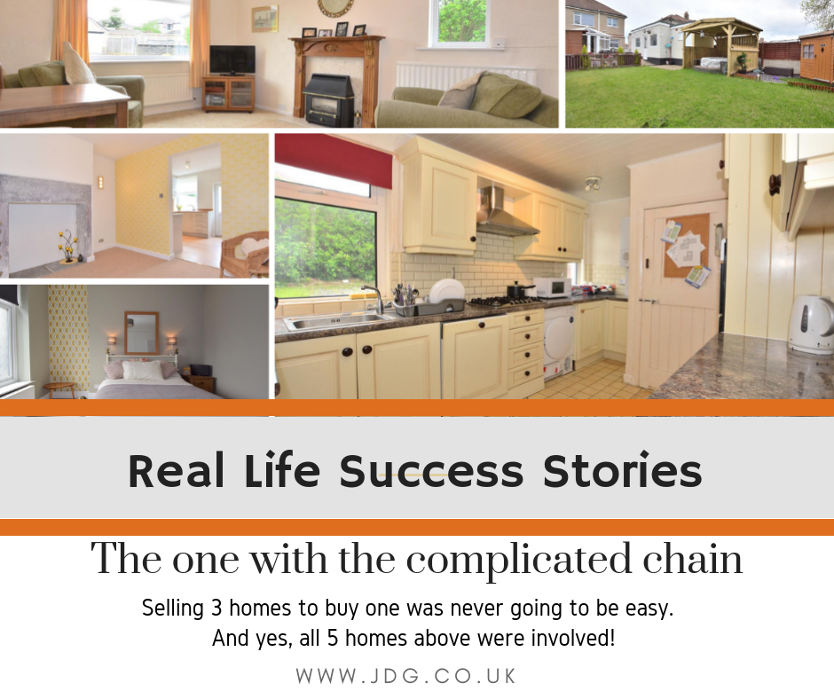Real Life Success Stories.  Selling three homes in Lancaster and Morecambe to buy one.