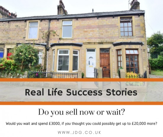 Real life success stories.  Selling Wingate Saul Road,  Fairfield