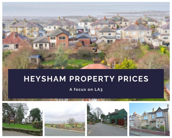 How have property prices changed in the Heysham Property Market?