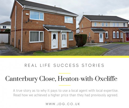 Case Studies. Canterbury Close, Heaton with Oxcliffe