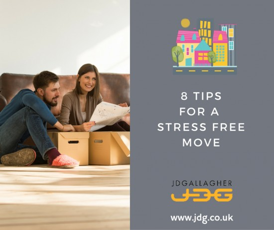 8 tips for a stress-free move