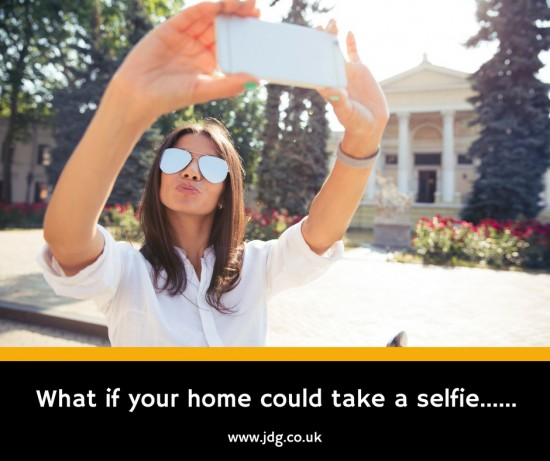 What if your home could take a selfie? How would it look?