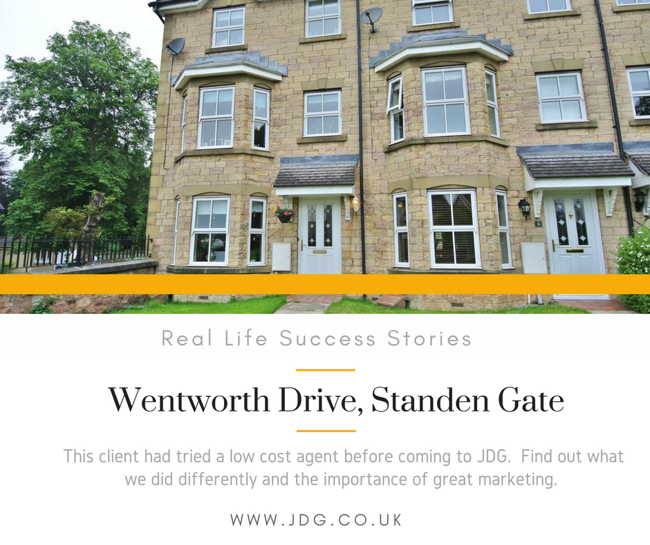 Real Life Success Stories.  Wentworth Drive, Standen Gate