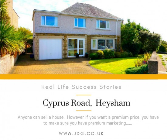 Real Life Success Stories.  Cyprus Road, Heysham