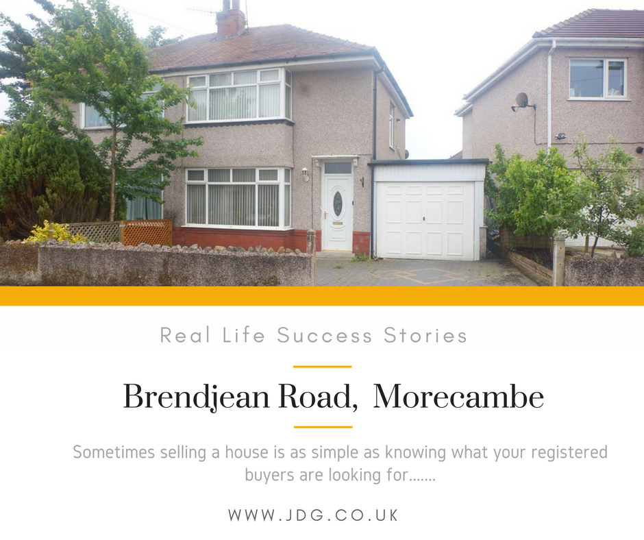 Real Life Success Stories. Brendjean Road, Morecambe